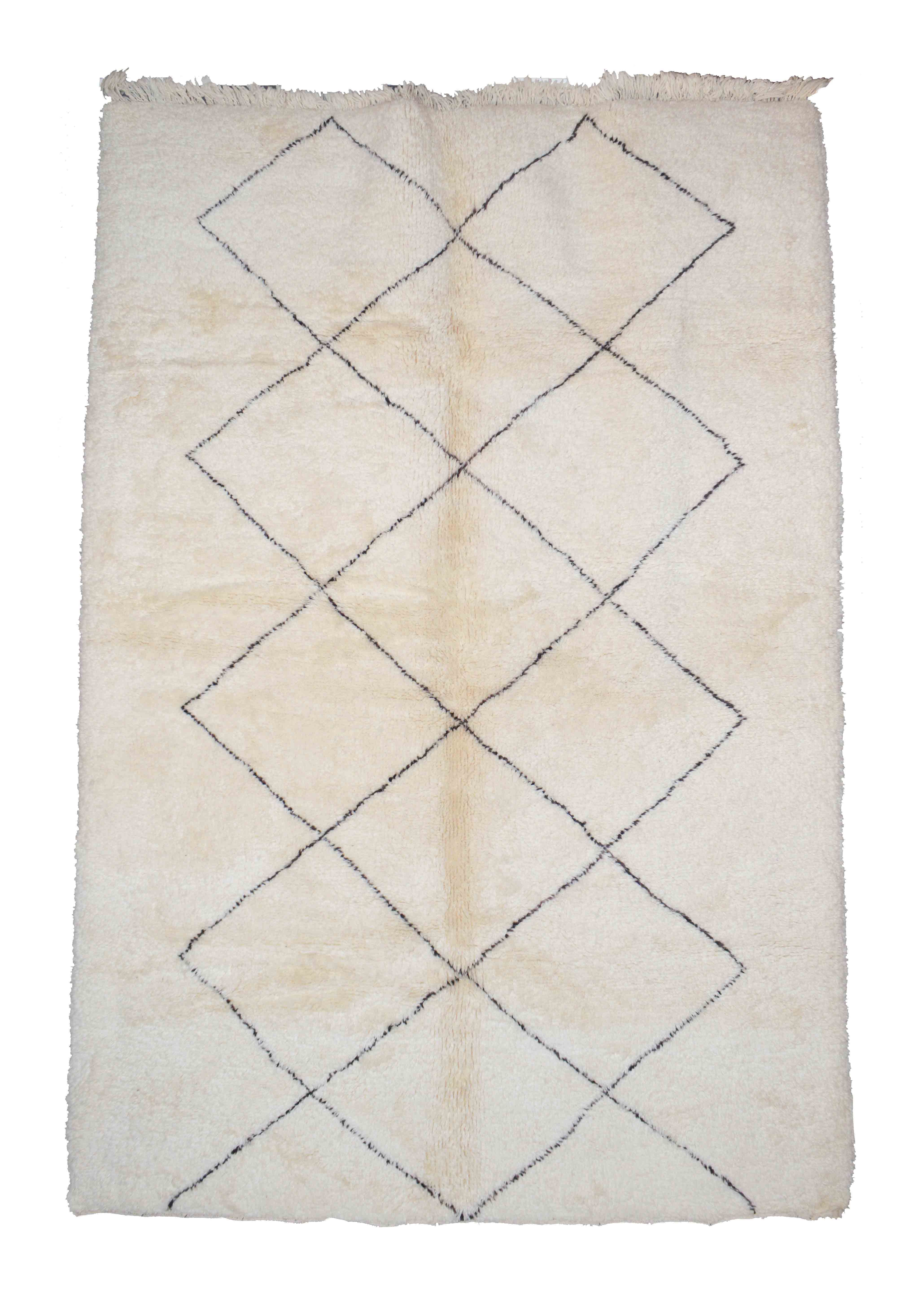 Beni Ourain BN01-21- 300 x 205 cm