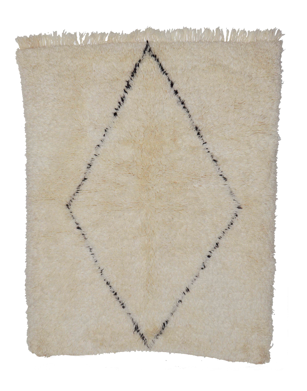 Beni Ourain BN10 - 155 x 120 cm
