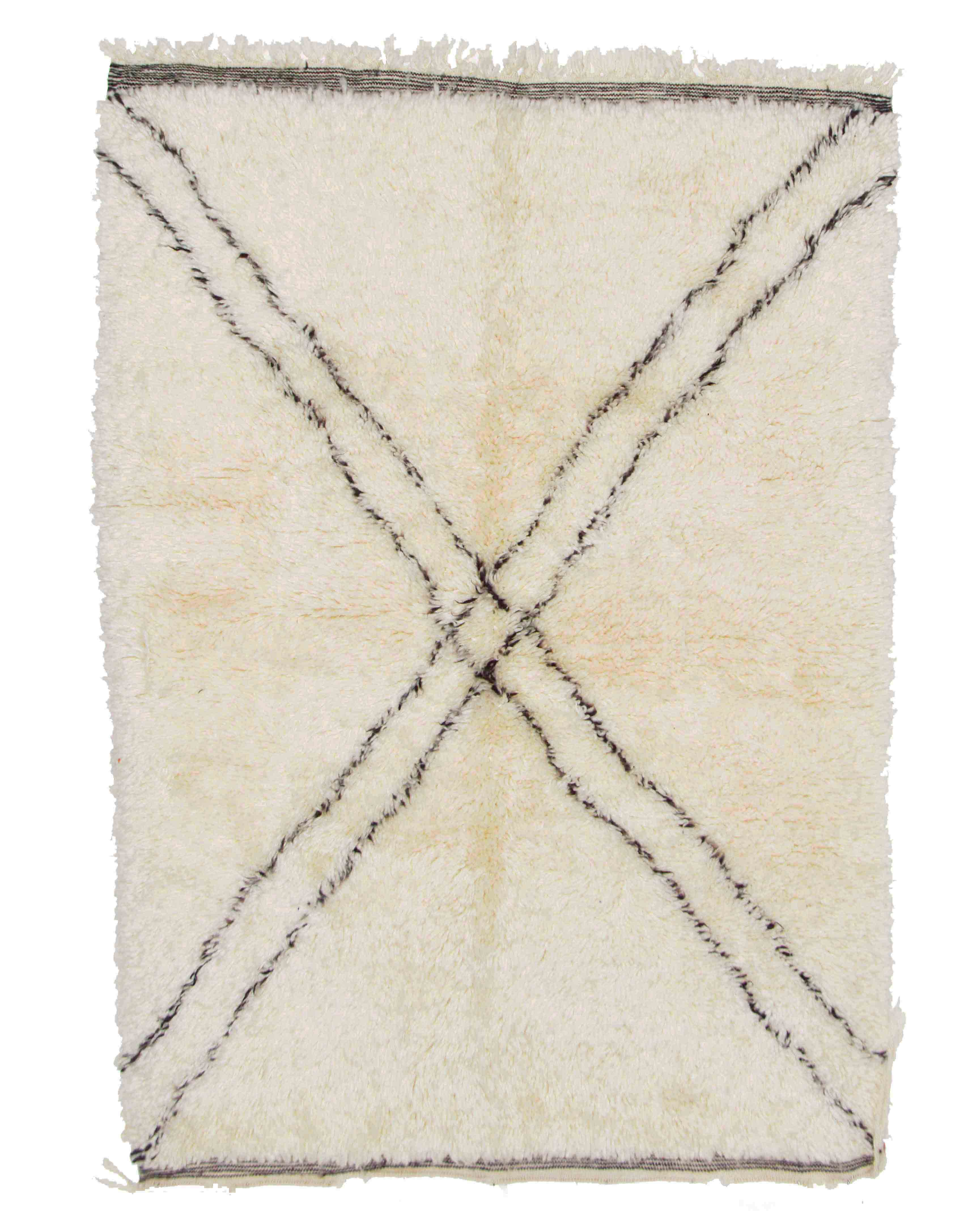 Beni Ourain BN21 - 170 x 118 cm