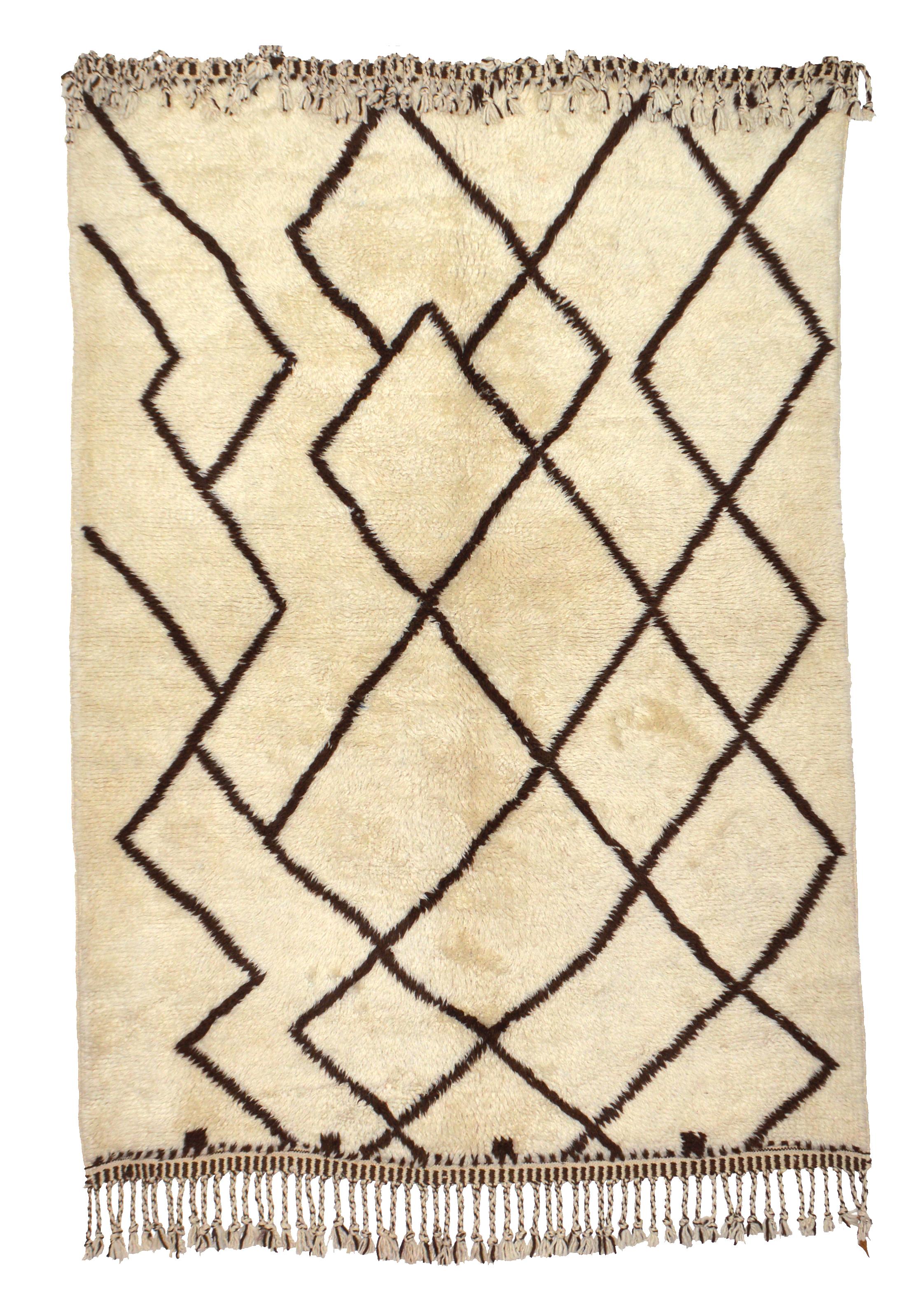 Beni Ourain BN 02- 215 x 150 cm