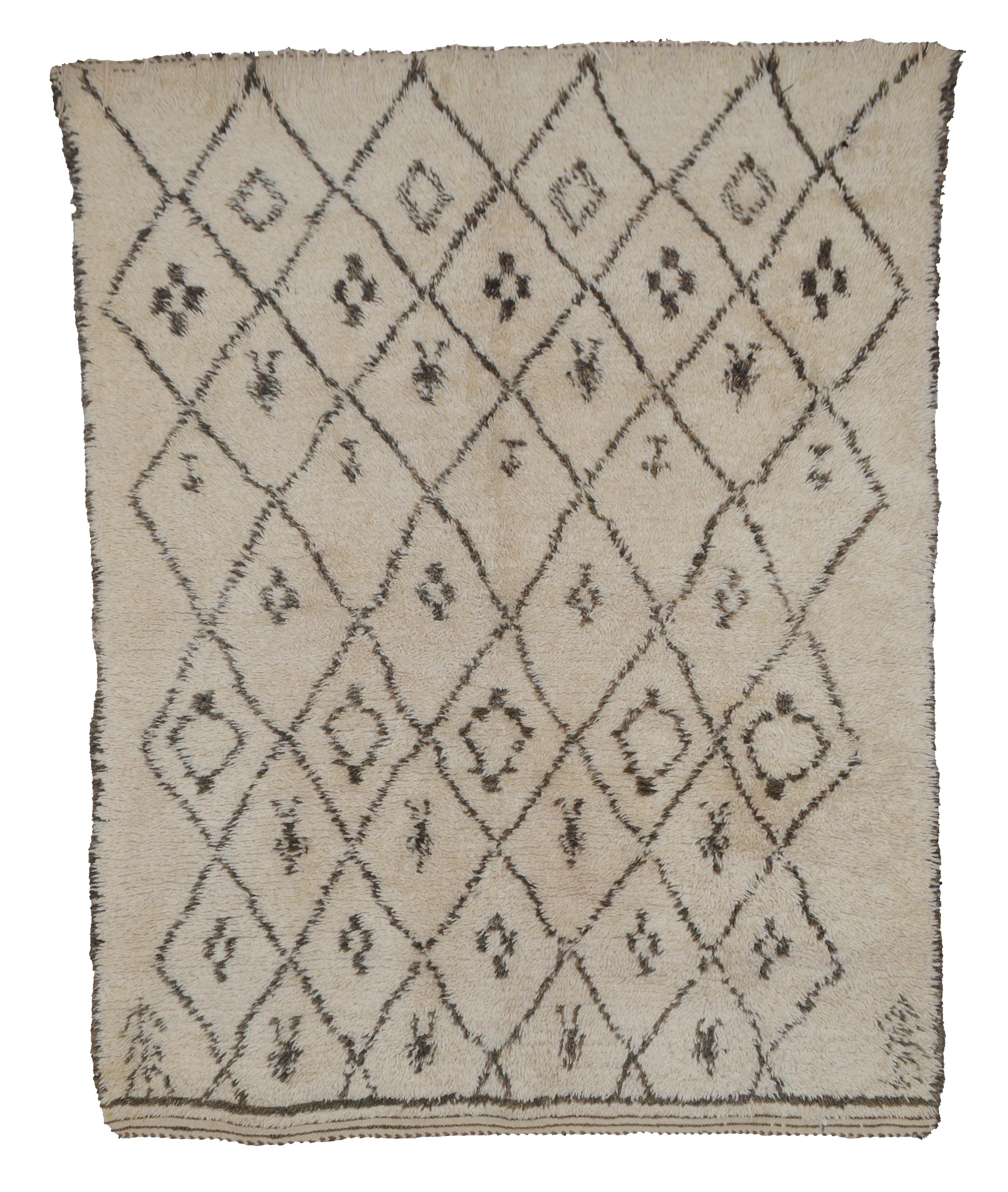 Beni Ourain BN01 - 230 x 180 cm