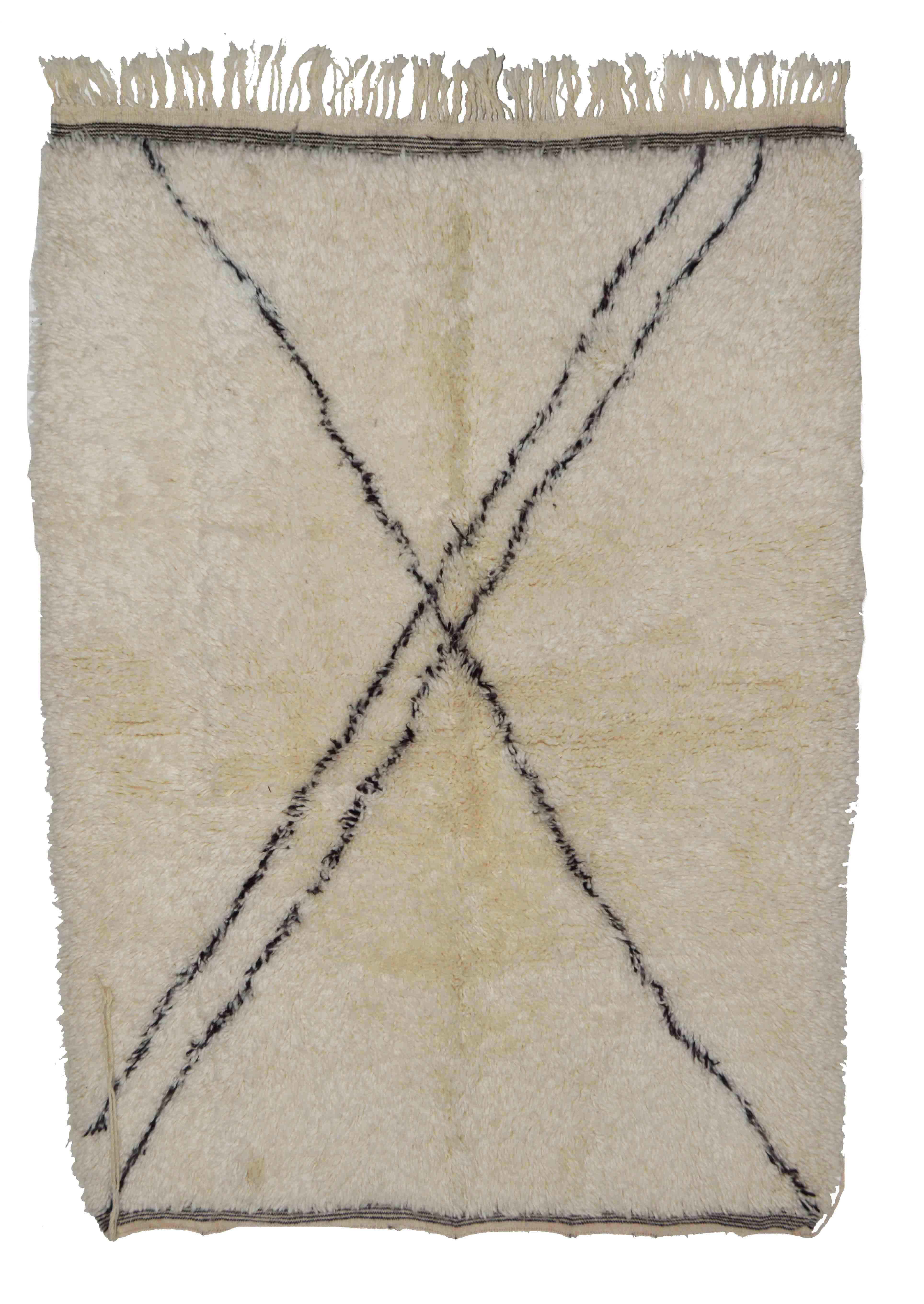Beni Ourain BN22 - 170 x 117 cm