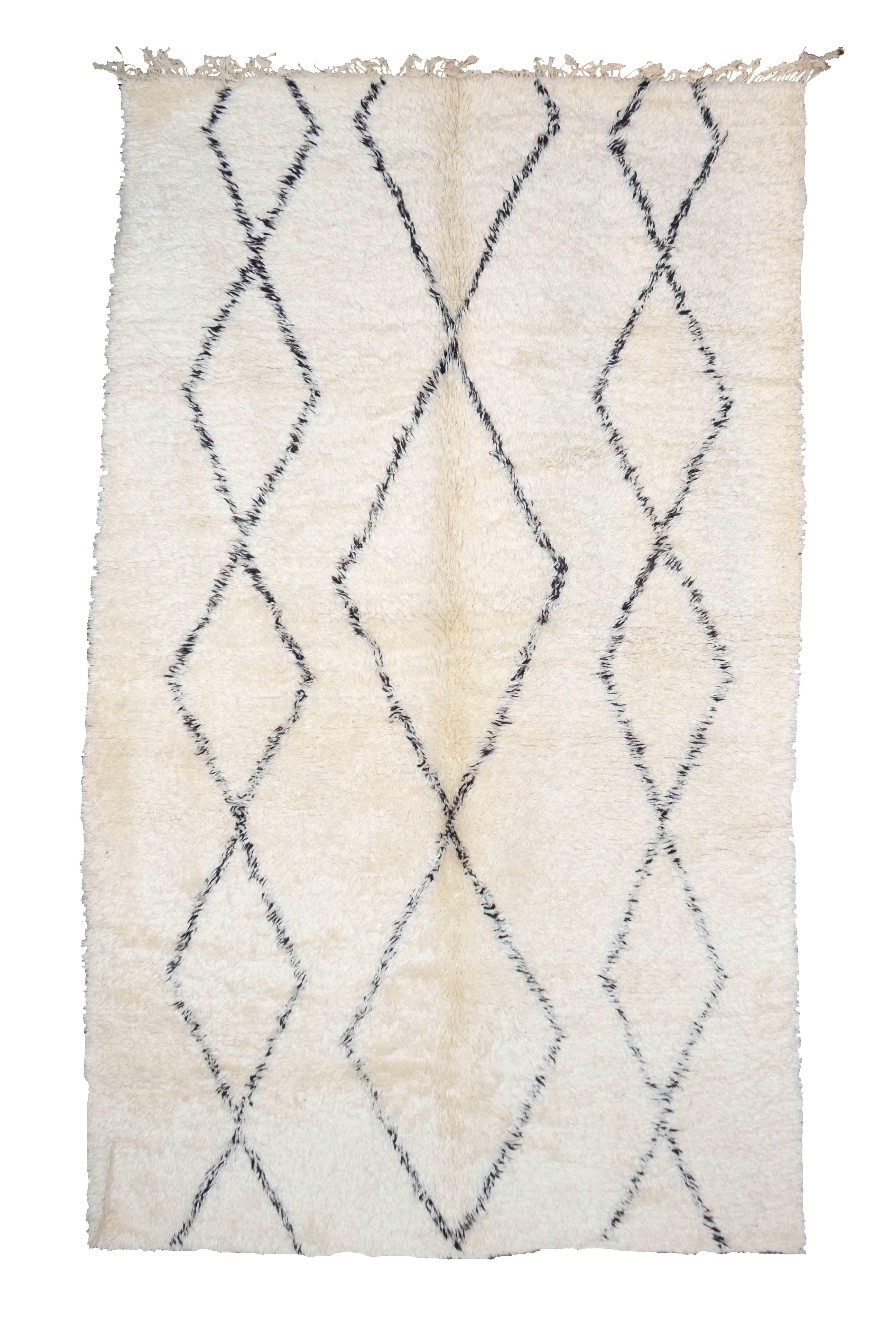 Beni Ourain BN06-21- 330 x 190 cm